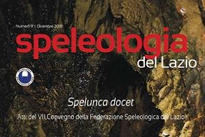 Speleologia del Lazio 9 Federazione Speleologica del Lazio